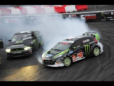 Gymkhana GRID 2013 ready to hit Europe like a BOSS