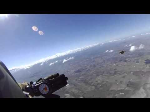 Free fall training with the US and the Philippines