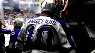 Syracuse Crunch Opening Night 2013 - Banner Raising video