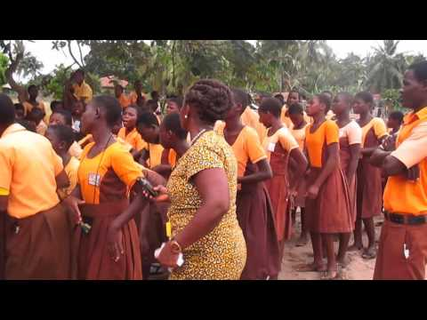 Play Welcome to volunteers at Rema Abutia School in Ghana in Mp3, Mp4 and 3GP
