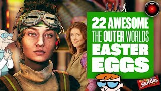 22 The Outer Worlds Easter Eggs You Might Have Missed - Star Wars, Firefly, The Beatles and more!