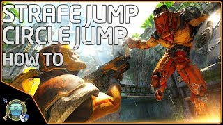 How to Circle Jump and Strafe Jump EXPLAINED