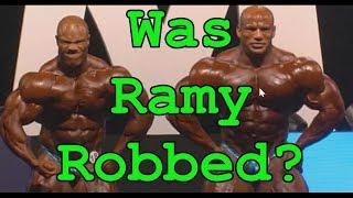Was Big Ramy Robbed???