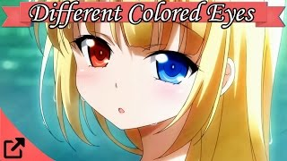 Top 10 Anime Characters with Different Colored Eyes