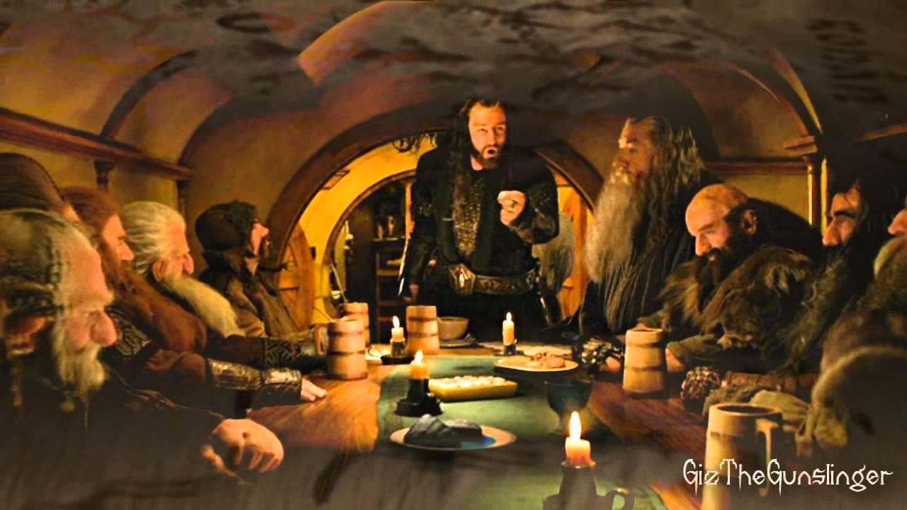 The Hobbit 13 Dwarves Youtube