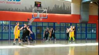 KS Hes BasketBall Wrocław - Team Plast KK Oleśnica - mecz 3 ligi koszykówki