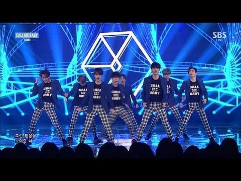 EXO(엑소) - CALL ME BABY(콜 미 베이비) @인기가요 Inkigayo 20150426