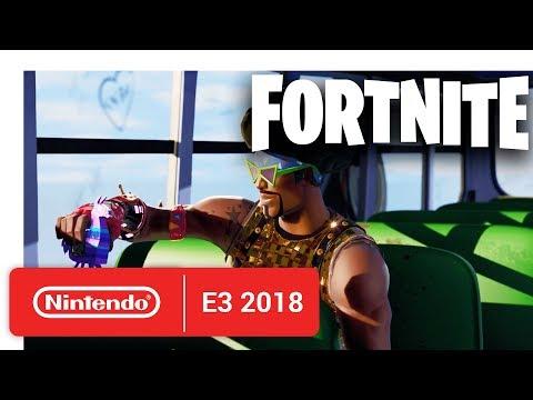 Fortnite - Nintendo Switch Trailer - Nintendo E3 2018