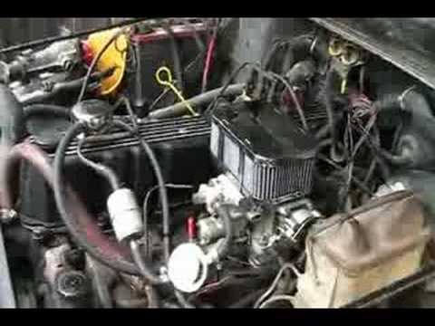 Jeep Yj Weber 36 Carb Upgrade Idle Issue Youtube