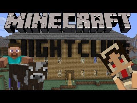 Locuras en Minecraft! El club de noche! XD