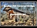 Bunker Hill Covered Bridge, Claremont NC, Catawba County