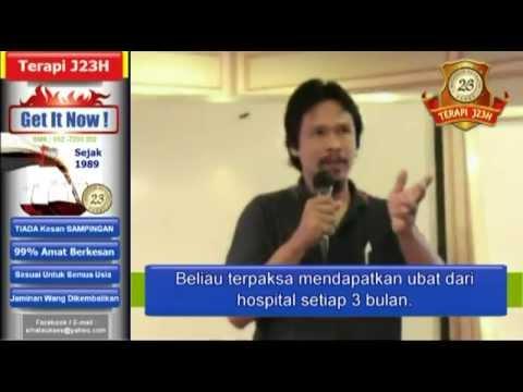 TERAPI J23H : SAKIT BATU KARANG & ELERGI / ALAHAN MAKANAN LAUT