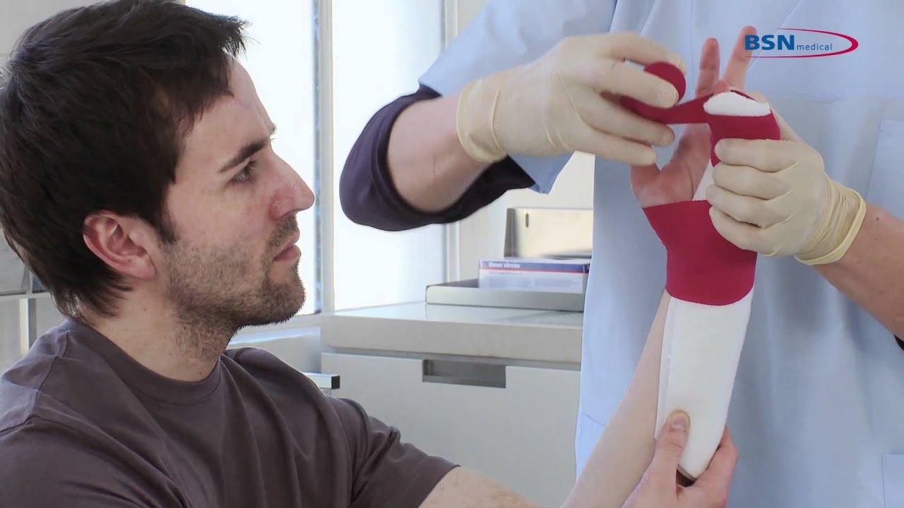Synthetic Splinting Boxer Splint En By Bsn Medical Mov