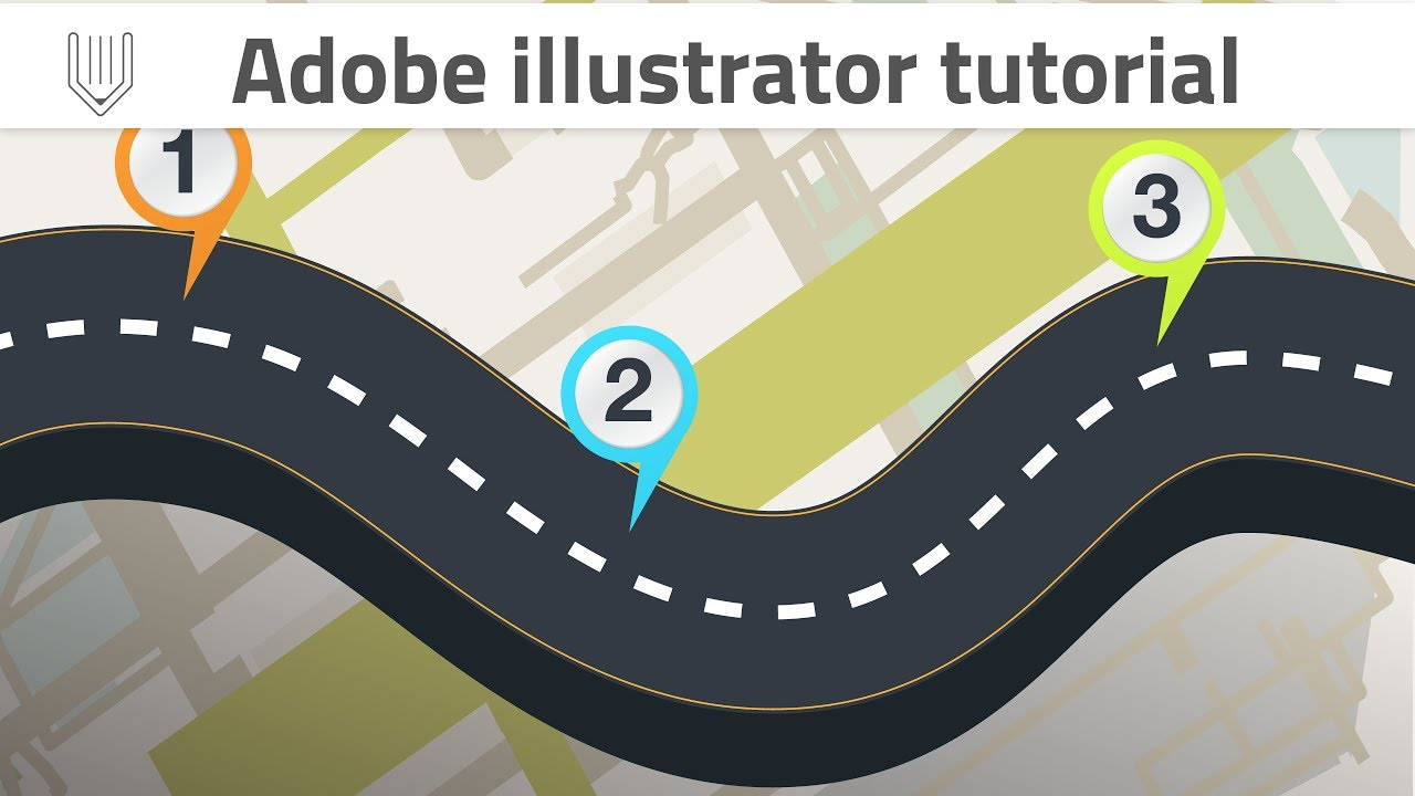 Infographic tutorial illustrator beginners workout