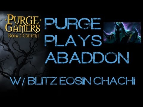 Dota 2 Purge plays Abaddon w/ friends