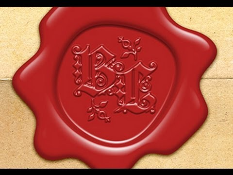 Photoshop How To Make A Custom Old World Wax Seal Youtube