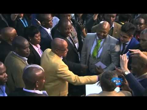 President Jacob Zuma visits the National Results Operation Centre