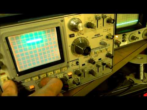 Basic Tektronix Oscilloscope Check Out.wmv