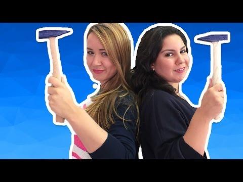 Çivi Çakmalı Güç Gösterisi - Kızlar Yarışıyor