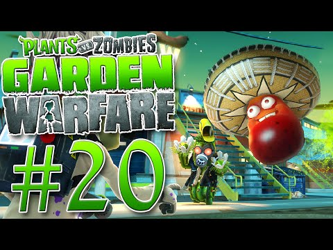 Plants vs Zombies Garden Warfare # 20 Schützt den Garten Lets Play Deutsch German
