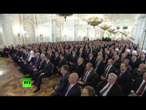 Vladimir Poutine Discours à l'Assemblée fédérale de Russie, le 4 décembre 2014