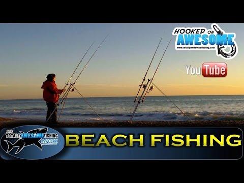 BEACH FISHING - Carp Rods vs Beach Rods - TAFishing Show