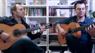 "Flamenco Guitar ""Zapateado"" of Gerardo Nuñez"