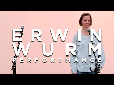 ERWIN WURM « One Minute Now » Performance | Galerie THADDAEUS ROPAC | PARIS • PANTIN | 2013