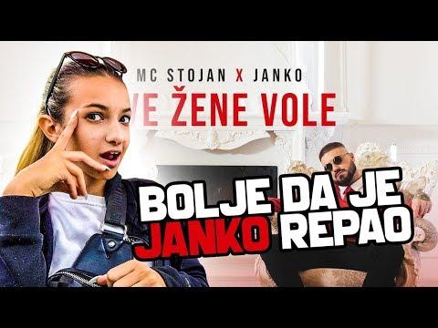 Mc stojan - sve žene vole ft Janko REAKCIJA *wtf*
