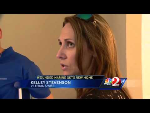 Local veteran receives new home on Marine Corps 240th birthday