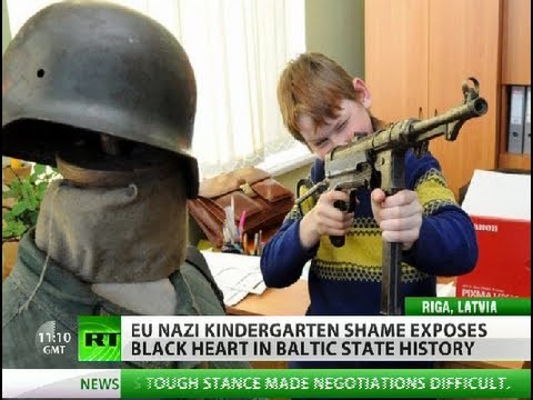 Nazi Kindergarten Shame: Baltic divided over dark past