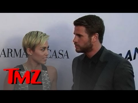 Miley Cyrus and Liam Hemsworth ... Actually Together!!!