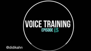 Voice Training: Episode 13 - La Traviata - Libiamo, ne' lieti calici...
