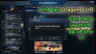 Truy kích ✓- Chế tạo Dragon sVIP cho nick Optimus, con hàng ưa thích đã về kho, kk  !
