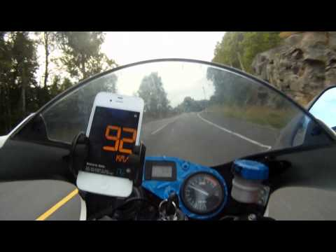 Aprilia Rs 125 GoPro on board Arrow Exhaust