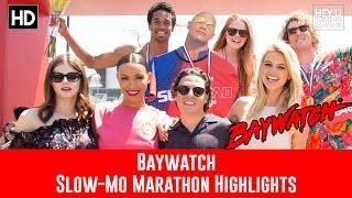 Baywatch Slow Mo Marathon Red Carpet & Event Highlights