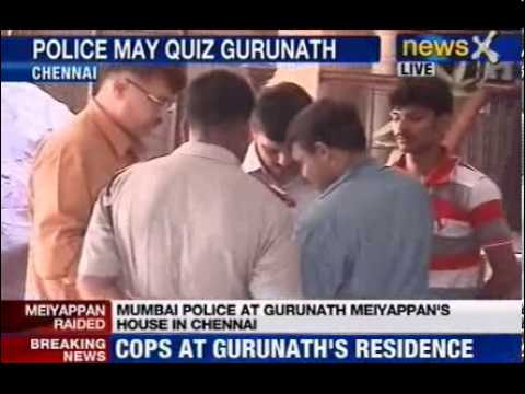 Police to question CSK owner Gurunath Meiyappan
