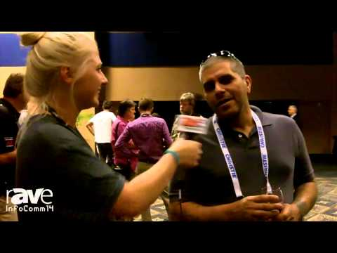 InfoComm 2014: Katie Chats with Charlie and Richard at InfoComm Opening Reception