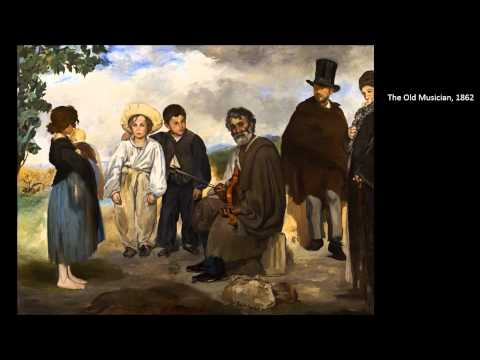 Manet, Edouard Part One 1/4 Art Lecture by dr. christian conrad