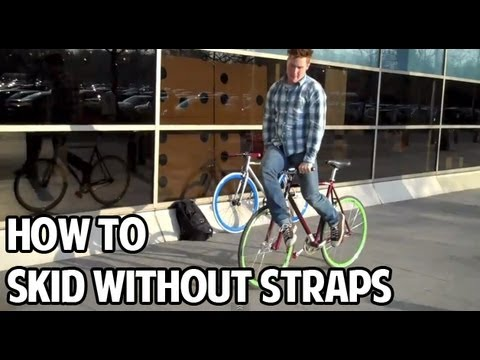 How to Skid Stop on a Fixed Gear (Without Foot Straps)