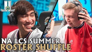 Which NA LCS Teams Will Make Roster Changes in 2018 Summer? | Lol esports