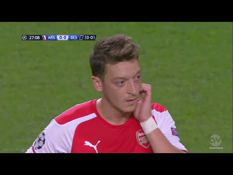 Mesut Özil vs Besiktas (Home) 14-15 HD 720p By iMesut11Ozil