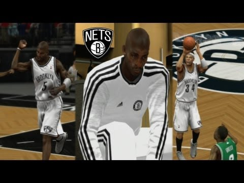 NBA 2K13 | Paul Pierce, KG, and Jason Terry Traded to Brooklyn Nets!