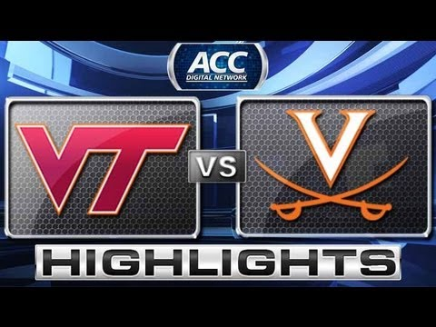 Virginia Tech vs Virginia Baseball Highlights - ACC Baseball Championship