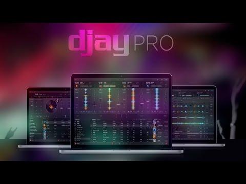 El mejor programa para mezclar en mac Djay Pro