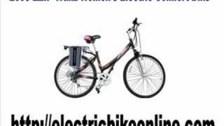 2008 EZIP Trailz Women's Electric Comfort Bike