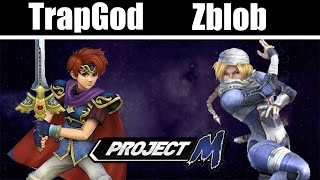 SLS - TrapGod (Assorted) Vs. Zblob (Assorted) SmashFest4 part 8 - Project M