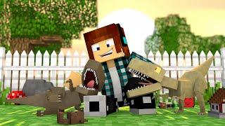 Minecraft : DINOSSAUROS BEBÊS !! - ARK CRAFT SURVIVAL #54