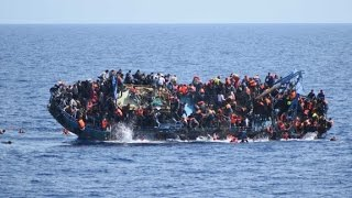 Over 500 people thrown overboard when ship flips