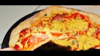 Лучшее Тесто для хрустящей пиццы. домашние рецепты